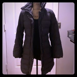 Soia & Kyo down coat with removable hood size P/S